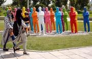 عکس روز: مجسمههای میدان آزادی