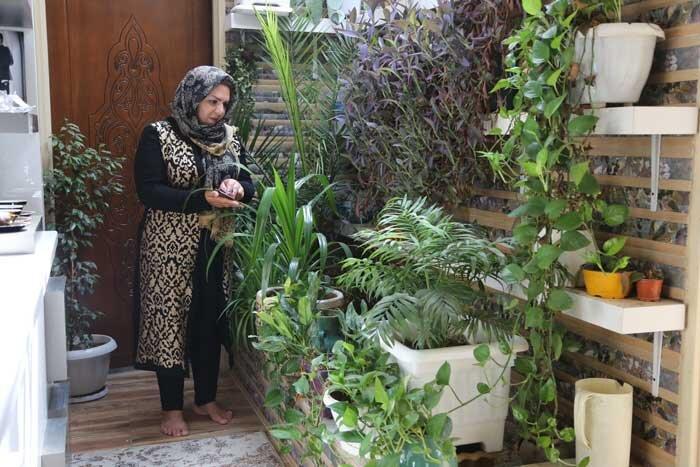 باغ گل  مهری زارعی