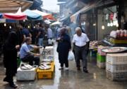 بازار رشت؛ درگیر سد معبر
