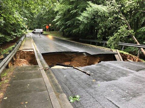 سیلاب در واشنگتن