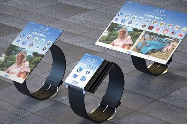 ساعت هوشمند آی بی ام قابل تبدیل به گوشی و تبلت است
