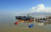 توقف ورود آب به دریاچه ارومیه در فصل گرما طبیعی است