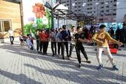 ایجاد پاتوق تفریحی در کندرو بزرگراه امام علی(ع)