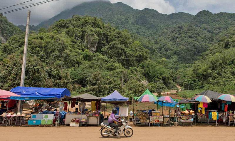 بازديد از غار تام لوانگ در تايلند