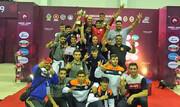 کشتی فرنگی جوانان آسیا؛ تیم ایران به عنوان قهرمانی رسید