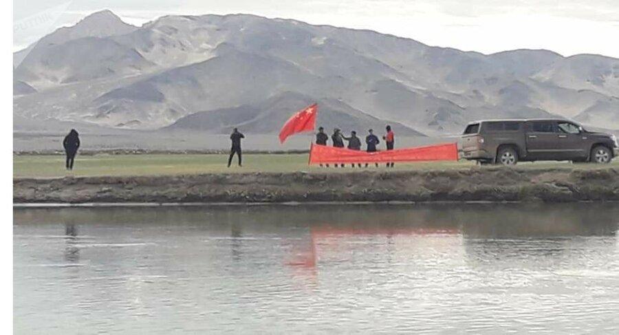 برافراشته شدن پرچم تبت در هند