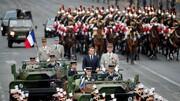 ماکرون را در جشن روز ملی فرانسه هو کردند