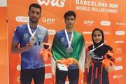 اسکیت ایران در رقابتهای جهانی صاحب سه مدال شد