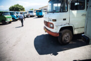 انبوه مینیبوسهای فرسوده در مازندران