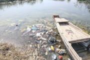 تخلیه زباله در تالاب شادگان حیات جانوران را به مخاطره انداخته است