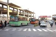 قم | تأخیر اتوبوسهای فرسوده و معطلی مردم