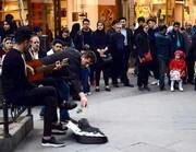 استقبال از اجراهای خیابانی در تبریز