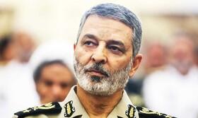 فرمانده کل ارتش درگذشت پدر توپخانه ایران را تسلیت گفت