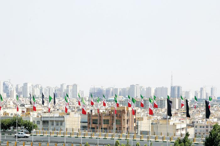 پرچم ـ نمای شهر