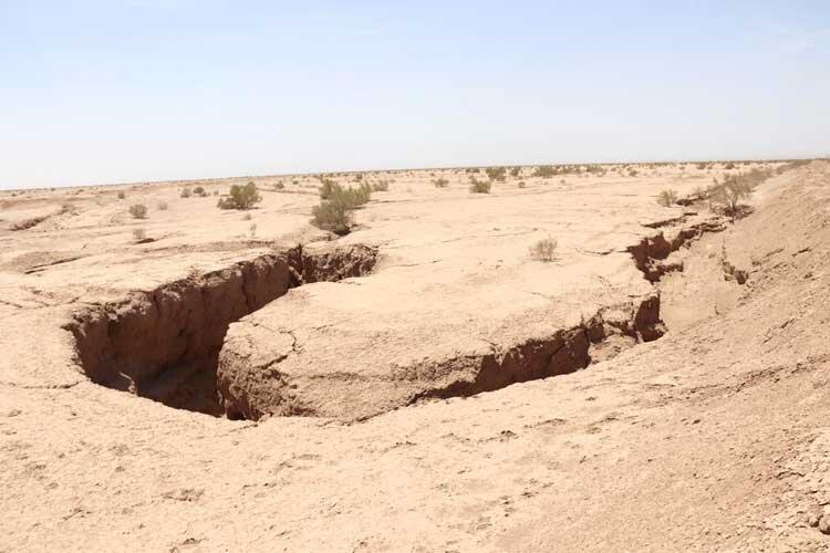 هشدار فرونشست زمین در البرز