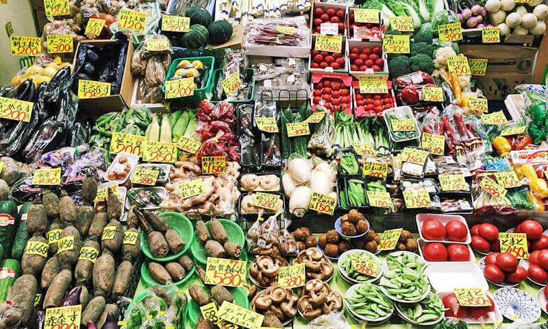بازار ميوه و تره بار توكيو