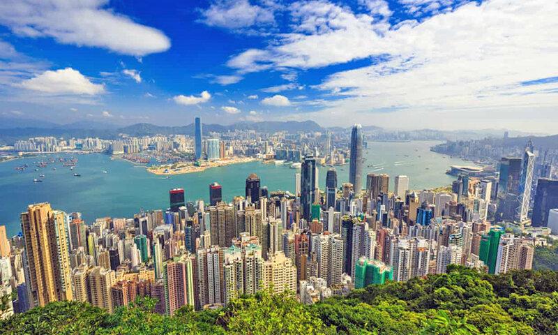 آسمانخراش هاي هنگ كنگ