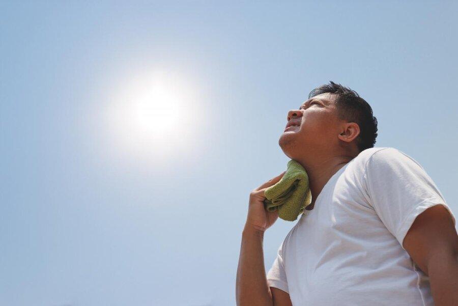 نکته بهداشتی: فرسودگی ناشی از گرما