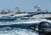 توقیف نفتکش حامل سوخت قاچاق بوسیله سپاه در نزدیکی تنگه هرمز