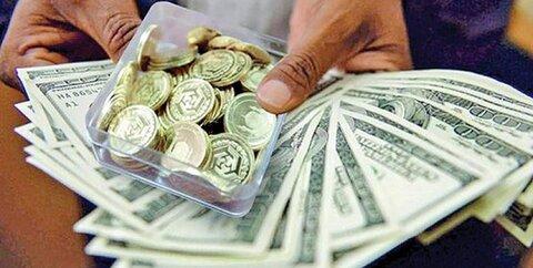 دلار در کانال 11 هزار تومانی و سکه 4 میلیون و 95 هزار تومان