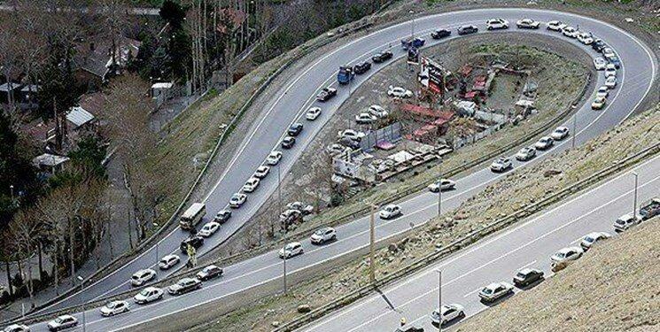 اعمال محدودیت ترافیکی در هراز و کندوان