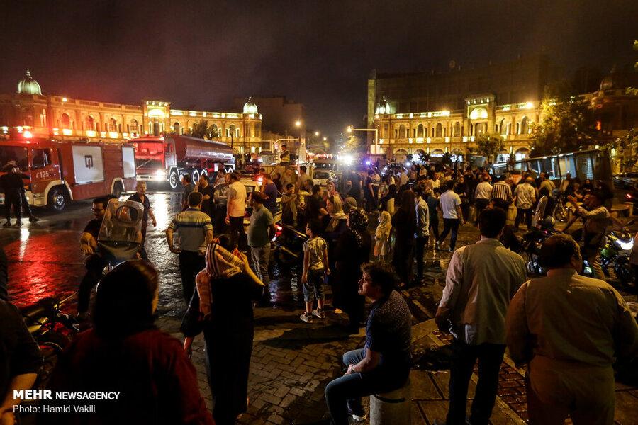 خسارت دو میلیاردی بهبنای تاریخی میدان حسنآباد