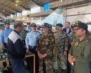 فرمانده ارتش قابلیتهای پایگاه هوایی شهید فکوری را ارزیابی کرد