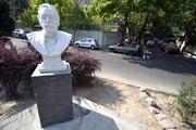 مجسمه استادان مشهور به معابر شمیران میآید