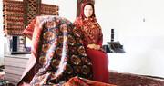 کارآفرینی که فرش ترکمن را در آنسوی مرزها میگستراند