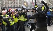 سی و ششمین شنبه اعتراض جلیقه زردها در فرانسه