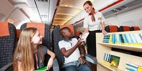 ایجاد کتابخانه مخصوص کودکان در هواپیماهای ایزیجت