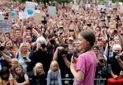 عکس روز: گرتا تانبرک در برلین