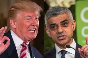 ترامپ و شهردار لندن