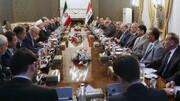 اظهارات رئیس جمهور در نشست هیاتهای عالیرتبه ایران و عراق