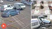 قاچاقچی نگونبخت |برخورد ون حامل ۲۰۰ میلیون دلار مواد مخدر با خودروی پلیس