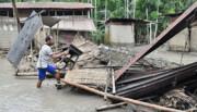 تلفات سیل در جنوب آسیا به ۳۰۰ تن رسید