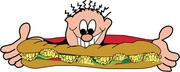 ساندویچ مغز با نون اضافه!