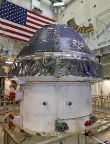 سفینه فضایی اوریون برای سفر به دور ماه در ۲۰۲۰ آماده است