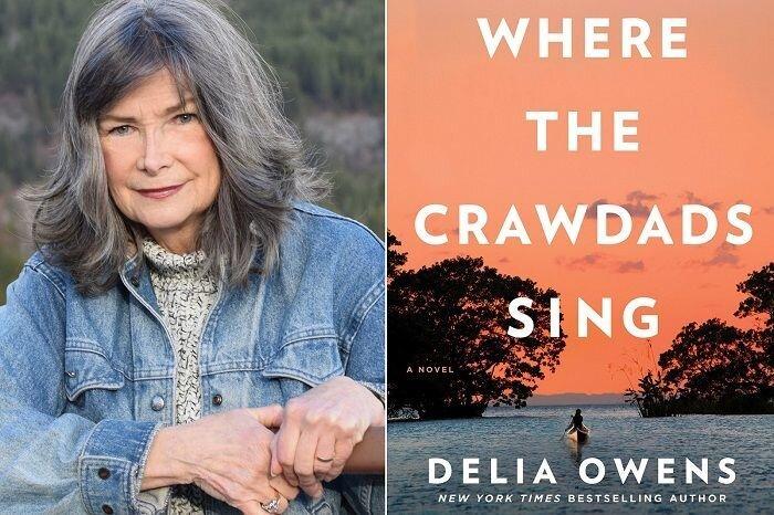 دلیا اُونز، نویسنده کتاب «جایی که خرچنگها آواز میخوانند