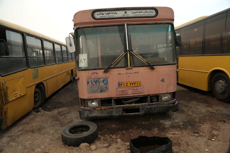 اتوبوس فرسوده تهران
