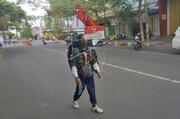 ۸۰۰ کیلومتر عقبروی مرد روستایی برای مراقبت از جنگلهای اندونزی