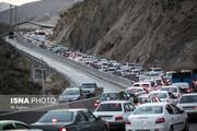 محدودیت ترافیکی در جاده کرج - چالوس اعمال میشود