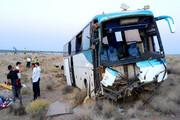 تصادف اتوبوس با خاور در جاده مشهد ۲۳ نفر را مصدوم کرد