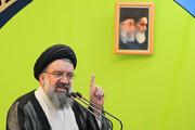 تشکر خیطیب نماز جمعه تهران از ۷ اقدام انقلابی طی هفته گذشته   انگلیس در ایران به ذلت افتاده است