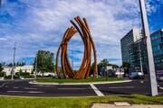 ساخت عظیمترین هنر عمومی اروپا در بزرگراههای بلژیک