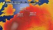 ادامه گرمای شدید و بی سابقه در کشورهای اروپای غربی