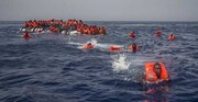 فاجعه در مدیترانه؛ ۱۵۰ پناهجو در ساحل لیبی غرق شدند