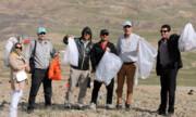 پاکسازی ارتفاعات توچال از زباله