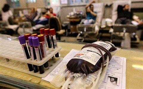 کمبود گروه خونی منفی در استان مرکزی