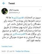 سهم زنان در انتخابات شورایاریها از زبان معاون رئیس جمهور